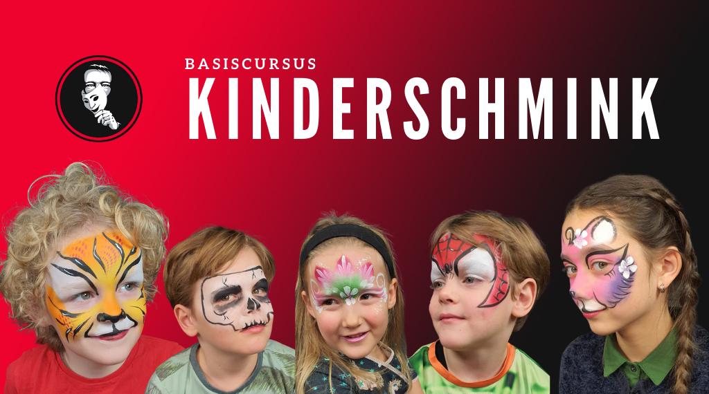 Online Basiscursus Kinderschmink   FBFX Academy