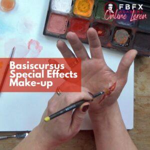 Online Basiscursus Special Effects Makeup   FBFX Academy